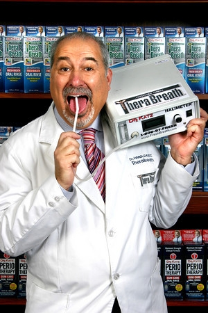 Halometer Dr. Harold Katz TheraBreath.com
