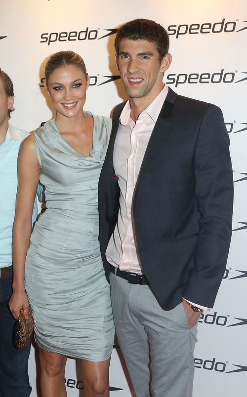 6a01127964c54a28a40176171a6eb1970c 500wi Celebrity Images: Ryan Lochte, Michael Phelps and Girlfriend Megan Rossee, and Team USA Olympians Attend Speedo Celebration Event!