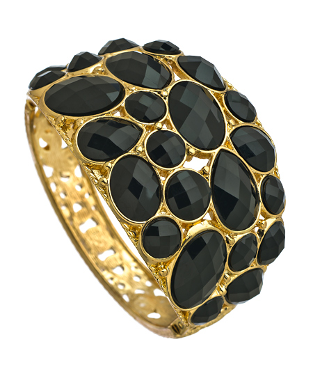J Goodin 08092012 039 black onyx stone gold bracelet L Sale Alert! Max&Chloe Jewelry Labor Day Sale Favorites! 