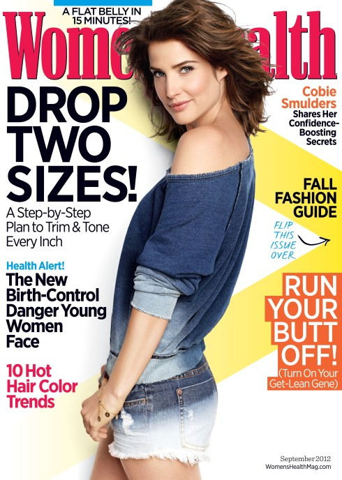 WH Sept 2012 Cover Cobie Smulders Credit Jeff Lipsky 729x1024 Expendables 2 Actor Liam Hemsworth Shares His Hidden Talents with Womens Health