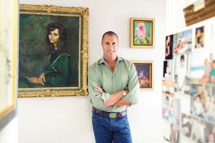 messagepart 5 1024x682 Images: Famed Photographer Nigel Barker Takes Page Six Into His Gorgeous West Village Abode & Talks Decorating and Life After Americas Next Top Model