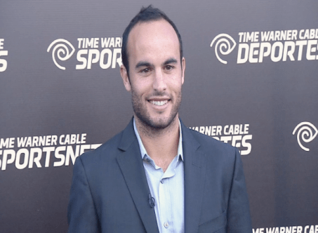 landon donovan  Images + Video: David Beckham, Magic Johnson, Kobe Bryant & LA Athletes Celebrate the Launch of Time Warner Cable SportsNet Networks
