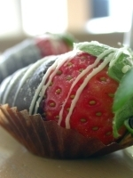 Chocolate Strawberries by Jacki Cichonski