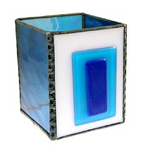 Fused Candle Box