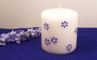 Daisy Candle