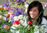 Happy Flower Girl: Renaude Hatsedakis
