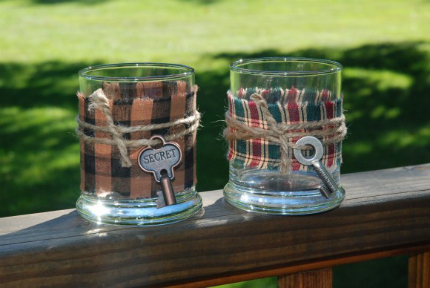 Country Candle Holders