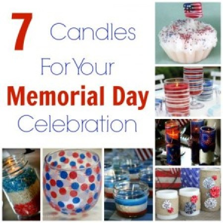 Memorial Day Candles