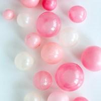 Gelatin bubbles  - balonowe kuleczki z żelatyny tutorial i film. Dekoracja na tort i babeczki