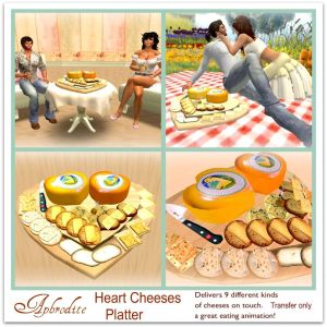 Heart Cheeses Platter