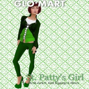 Glomart St. Patty's Girl Ad