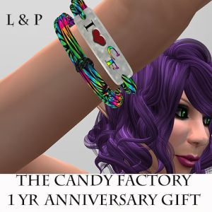 L&P Candy Factory 1Yr Gift