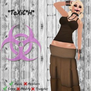 _ToXiC_H_ Maxi Brown With Top With Appliers