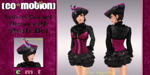 CoMo-Advert-CorsetDress&Hat-23Aug2014-512x1024