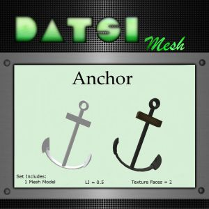 DATSI Mesh - Anchor Vendor Texture