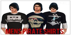 [KRC] Men's Pirates shirts