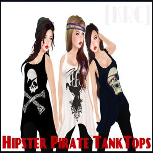 [KRC] Pirate Tank Tops