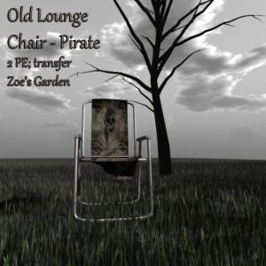 Old Lounge Chair - Pirate AD