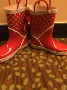 Disneyland Boots, Minnie Mouse, Wellies
