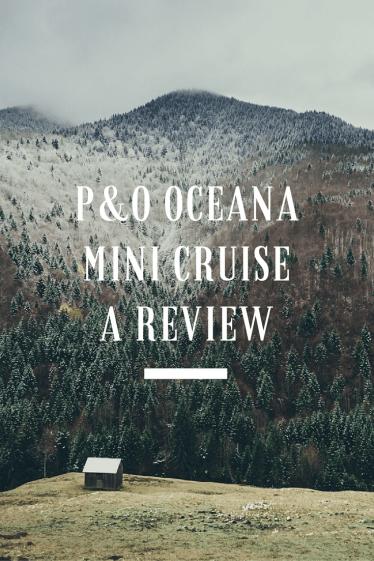 Oceana review, P&O Oceana cruise ship review