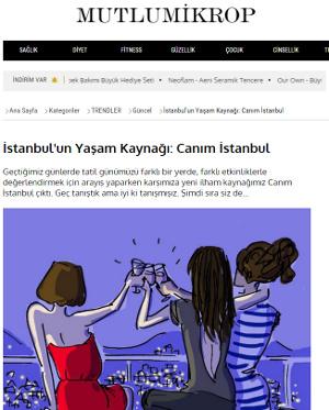 Canım Istanbul in Mutlu Mikrop