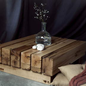 Hane 78 wooden coffee table