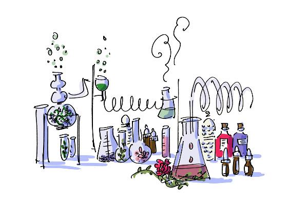 Homemade Aromatherapy illustration