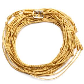 21 Bracelet gold color