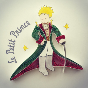 Little Prince made of paper by Sena Runa