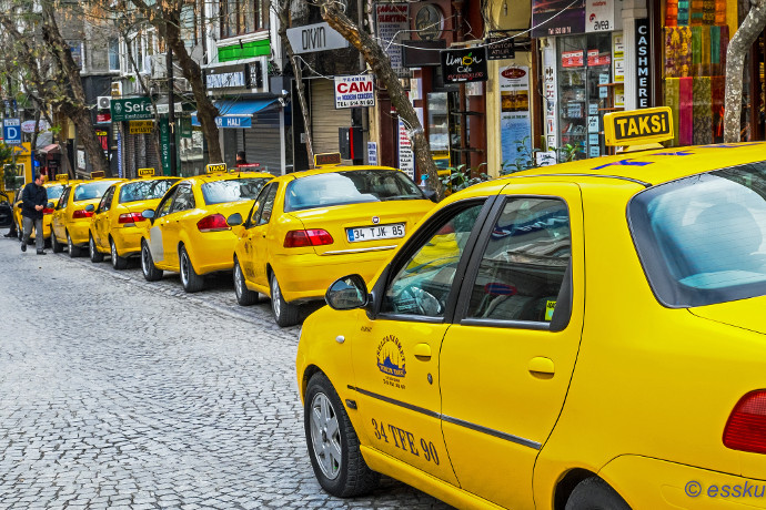 Beware of typcal scams by Istanbul taxis