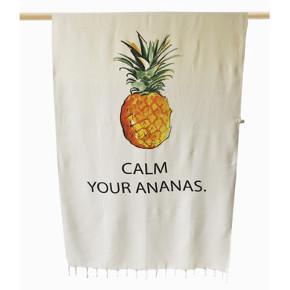 "Peshmare's ""Calm Your Ananas"" Peshtemal"