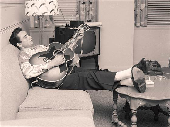 CIBASS Johnny Cash en 1958