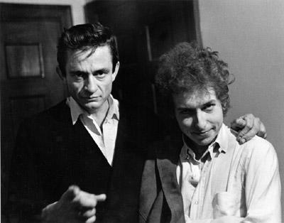 CIBASS Johnny Cash y Bob Dylan