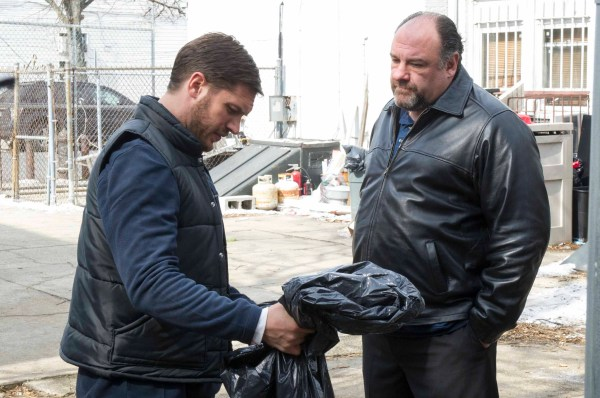 La entrega, con James Gandolfini y Tom Hardy