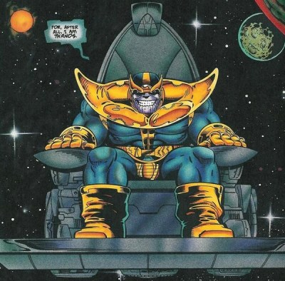 CIBASS Representación clásica de Thanos