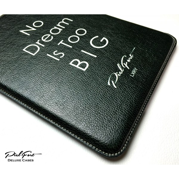 CIBASS funda-de-piel-no-dream-is-too-big-para-ipad-e-iphone