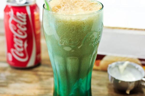 CIBASS Coca Cola con helado de Vainilla