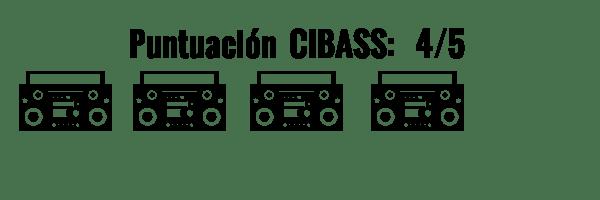 CIBASS Puntuación CIBASS Cuatro puntos