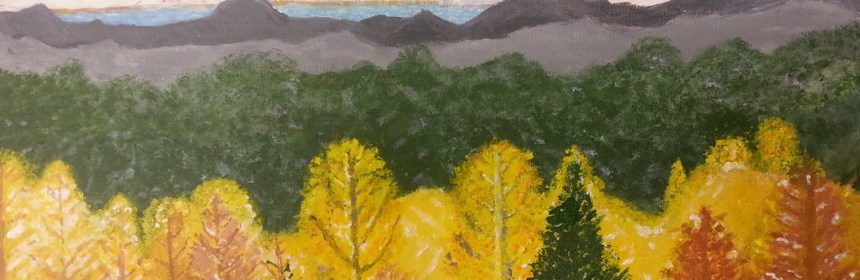 Judson-Acrylic Painting by Judson Park resident Jim Tibbitts