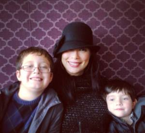 diane and kids