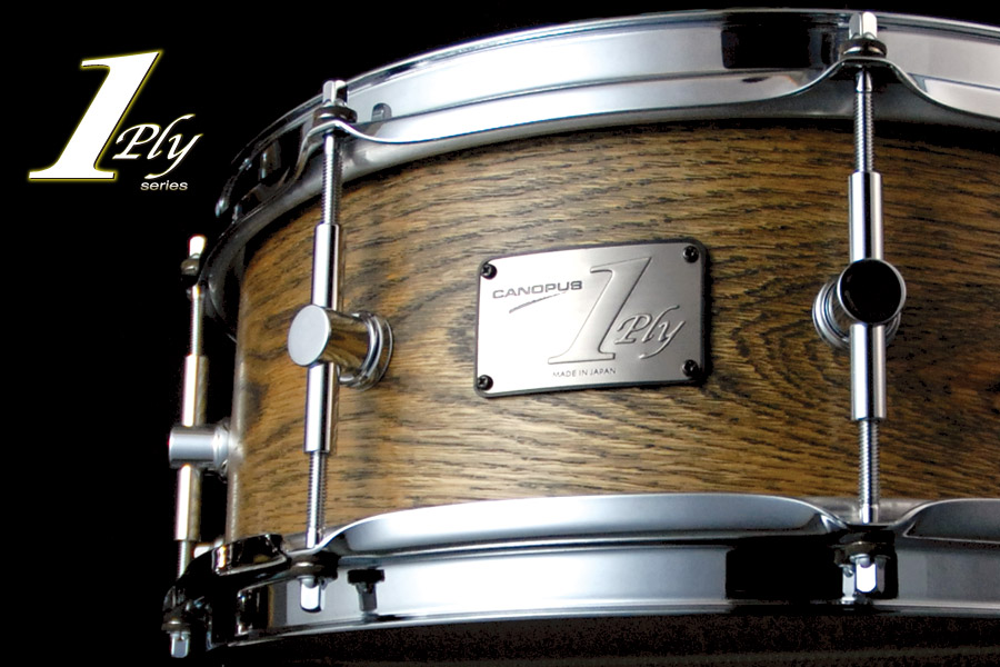 1ply Oak Snare Drum SSOA-1455