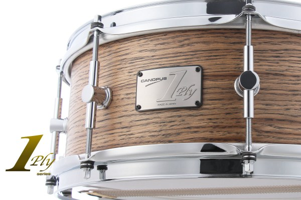 1ply Oak Snare Drum