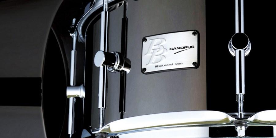 Black Nickel Brass Snare Drum BB-1465