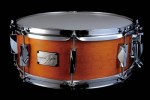YAIBA II Maple Snare Drum JSM-1455 Antique Amber Mat LQ