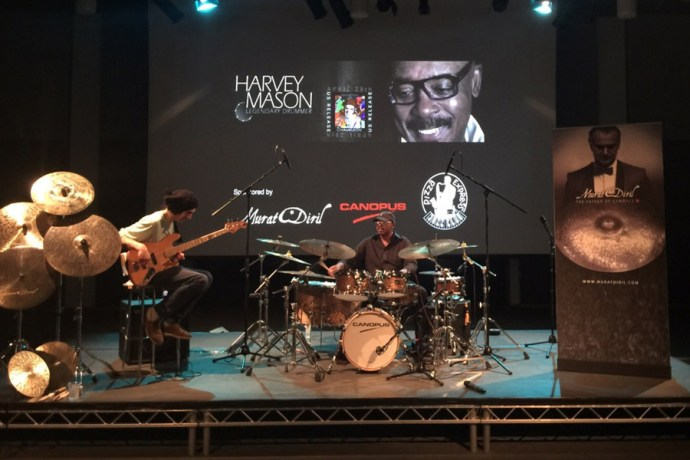 Harvey Mason had master classes at BIMM and London College of Music