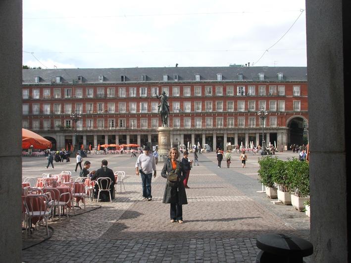 Como vimos Madrid em 2 dias plaza mayor madrid