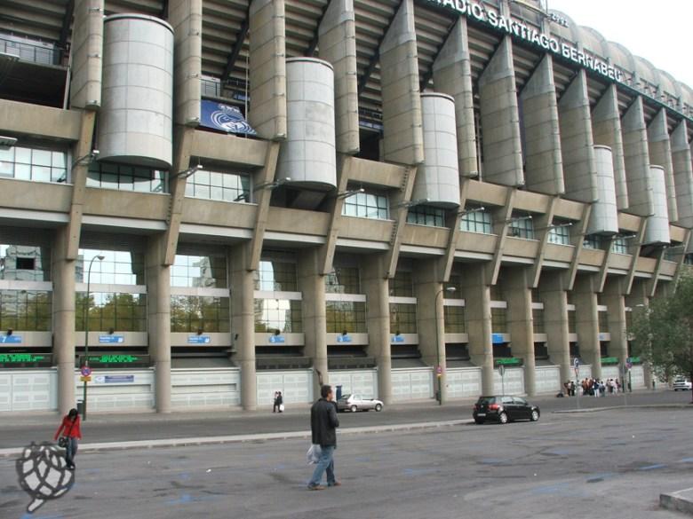 fachada Santiago Bernabeu