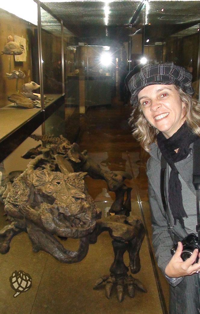 museu Viena eu com jacare