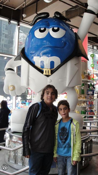M&M-New-York-crianças