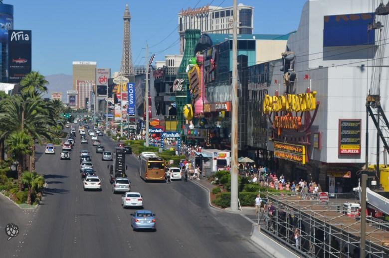 M&Ms store Las Vegas Strip